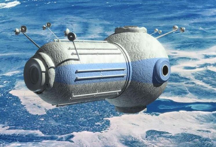 Россия планирует строить еще одину космическую станцию