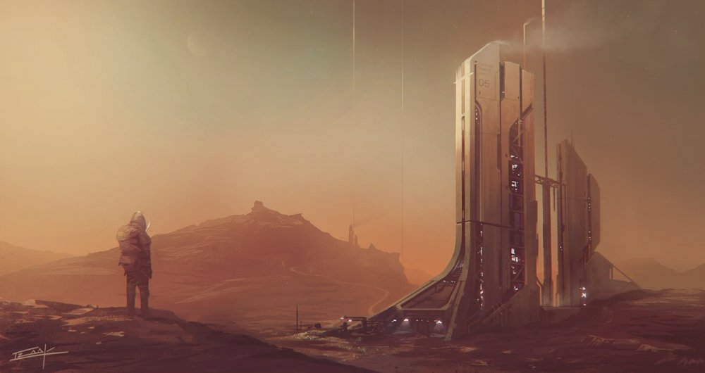 марсианские города построенные рускими