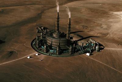 заводы на марсе