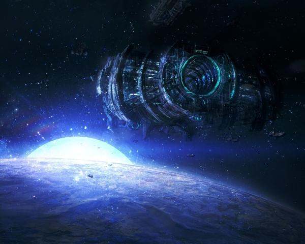 сателлин, спутник, космическая база